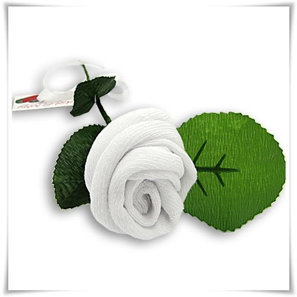 skarpetka róża