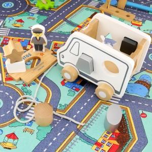 ciężarówka sorter z nadrukiem na prezent dla dziecka