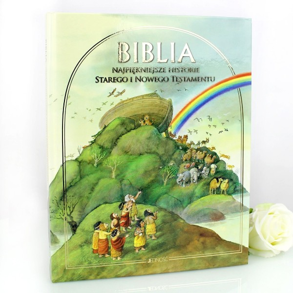 Ilustrowana Biblia Z Możliwością Zamieszczenia Dedykacji