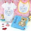 wyprawka dla dziecka z personalizacją na prezent