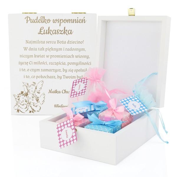 spersonalizowane pudełko wspomnień