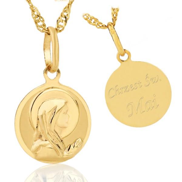 personalizowany medalik dla dziecka