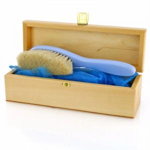 szczotka do włosów dla niemowląt w pudełku na prezent