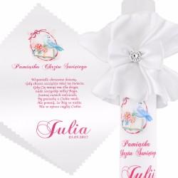 personalizowany zestaw na chrzest dla dziewczynki