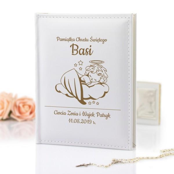 prezent na chrzest dla dziecka album na zdjęcia