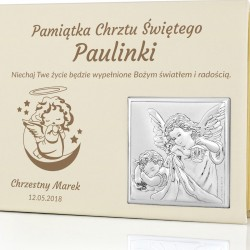 pamiątka chrztu świętego dla dziecka album na zdjęcia