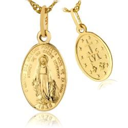 cudowny medalik na pamiątkę chrztu