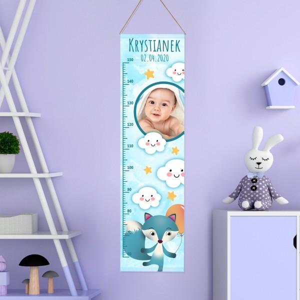 miarka wzrostu na prezent dla chłopczyka na dzień dziecka